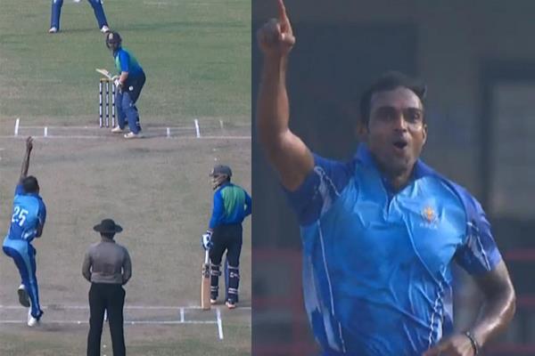 वीडियो : अभिमन्यु मिथुन ने रच दिया इतिहास, एक ओवर में ही ले लिए 5 विकेट