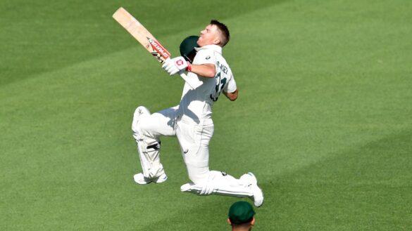 AUSvPAK, पहला टेस्ट: ऑस्ट्रेलिया ने दूसरे दिन ही मैच पर बनाई पकड़, डेविड वॉर्नर का बड़ा शतक 10
