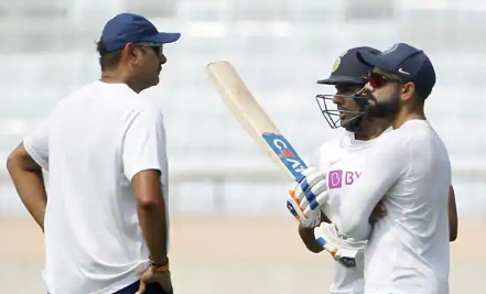 PHOTOS : भारतीय टीम ने प्रैक्टिस में बहाया पसीना, रवि शास्त्री ने इन खिलाड़ियों पर रखी कड़ी नजर 5