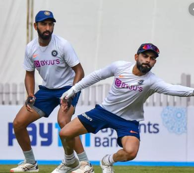 PHOTOS : भारतीय टीम ने प्रैक्टिस में बहाया पसीना, रवि शास्त्री ने इन खिलाड़ियों पर रखी कड़ी नजर 3