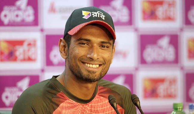 महमुदुल्लाह ने बताया राजकोट के मैच क्या हो सकती है बांग्लादेश की प्लेइंग इलेवन
