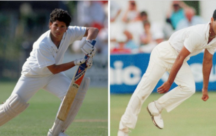 आईसीसी ने शेयर की सचिन-वकार के डेब्यू की तस्वीर शेयर, भारत-पाकिस्तानी प्रशंसकों ने किये दिल जीतने वाले कमेंट 3