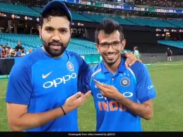 युजवेंद्र चहल ने मुंबई इंडियंस में आने की जताई इच्छा, तो रोहित शर्मा ने दिया ये जवाब 12