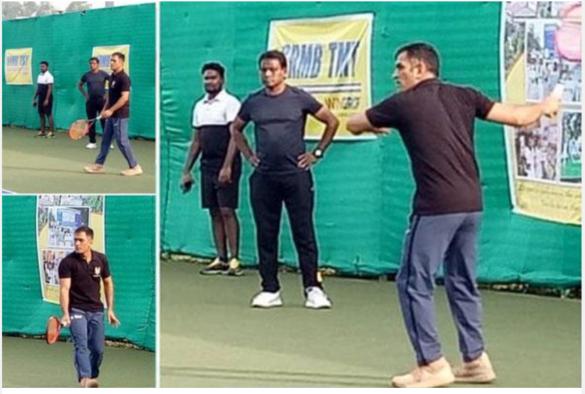 महेंद्र सिंह धोनी अब क्रिकेट के अलावा टेनिस में बिखेर रहे अपना जलवा 8
