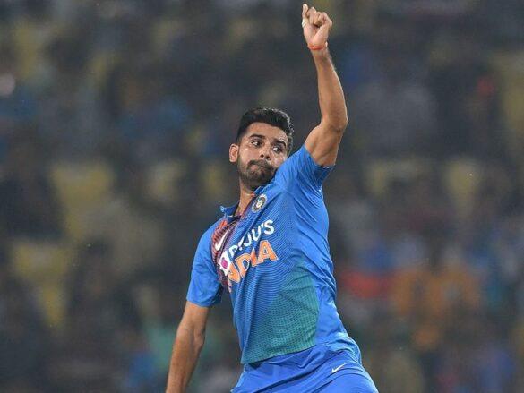 दीपक चाहर ने लगातार दूसरे टी-20 मुकाबले में लिया हैट्रिक 2