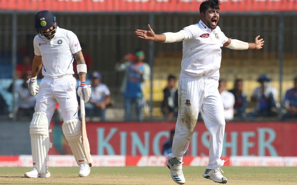 INDvBAN, पहले टेस्ट: भारतीय टीम दूसरे दिन चाय तक 300 के पार 1