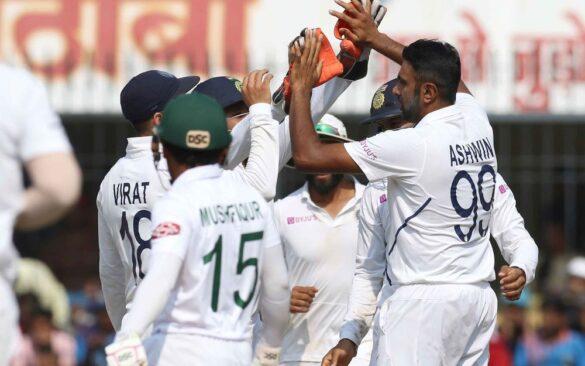 IND vs BAN : भारत ने पहले टेस्ट में बांग्लादेश को पारी व 130 रनों से रौंदा 6