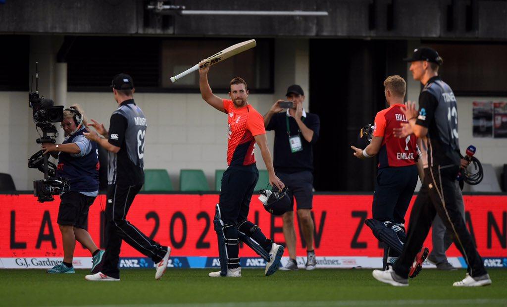 NZvENG, चौथा टी-20: इंग्लैंड ने मुकाबले को 76 रनों से जीता, डेविड मलान का शानदार शतक