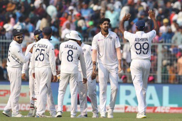 INDvBAN, दूसरा टेस्ट: भारत ने डे-नाइट टेस्ट को पारी और 46 रनों से अपने नाम किया 3