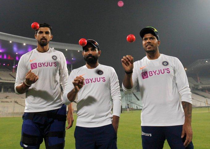 पिंक बॉल टेस्ट से पहले भारतीय गेंदबाजों ने ये कहकर दी बांग्लादेशी  बल्लेबाजों को चुनौती
