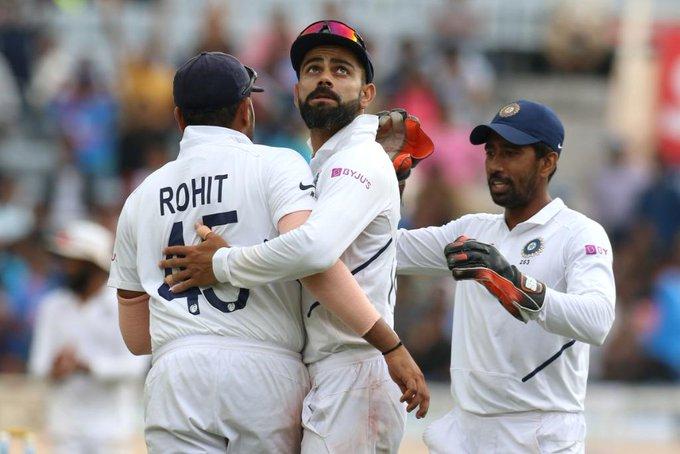 INDvsWI : पिंक बॉल टेस्ट मैच में पहला सेशन रहा भारतीय तेज गेंदबाजो के नाम, झटके 6 विकेट 2