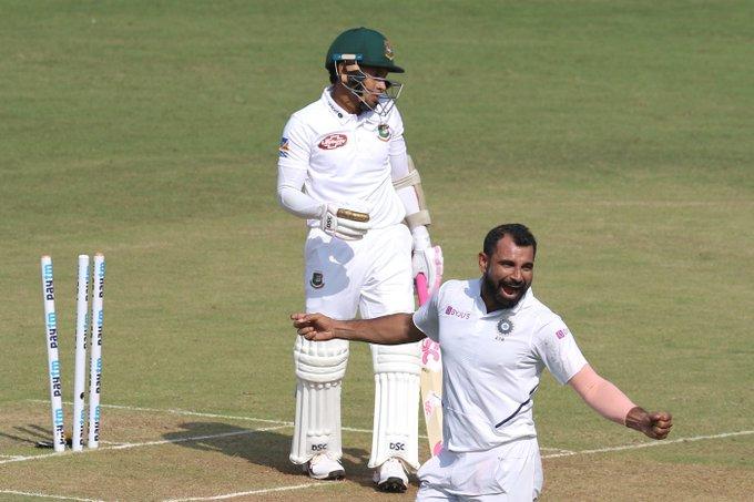 INDvsWI : पिंक बॉल टेस्ट मैच में पहला सेशन रहा भारतीय तेज गेंदबाजो के नाम, झटके 6 विकेट 1