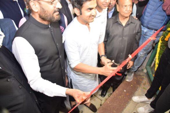 गौतम गंभीर ने अरुण जेटली स्टेडियम में अपने नाम के स्टैंड का किया उद्घाटन, देखें फोटो 12