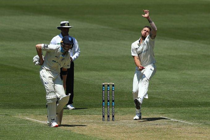 VIDEO: ऑस्ट्रेलियाई कप्तान आरोन फिंच को सिर पर लगी गेंद, मैदान छोड़कर जाना पड़ा बाहर 3