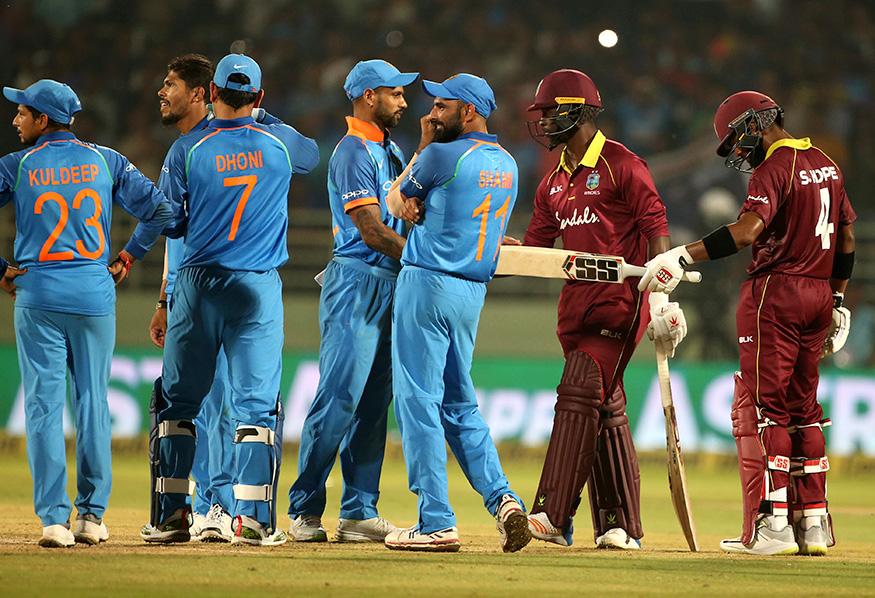 भारत-वेस्टइंडीज टी-20 सीरीज के कार्यक्रम में हुआ बड़ा बदलाव