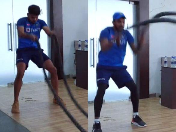 नागपुुर टी20 में शानदार प्रदर्शन करने का शिवम दुबे ने इनको दिया श्रेय 4