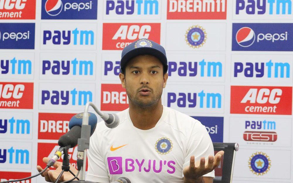 INDvBAN, पहला टेस्ट: मयंक अग्रवाल ने असफलता का डर निकालने को बताया अपनी सफलता का राज