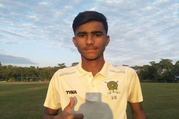 निर्देश बैसोया ने अंडर-16 विजय मर्चेंट ट्रॉफी में चटकाए पारी में 10 विकेट 9