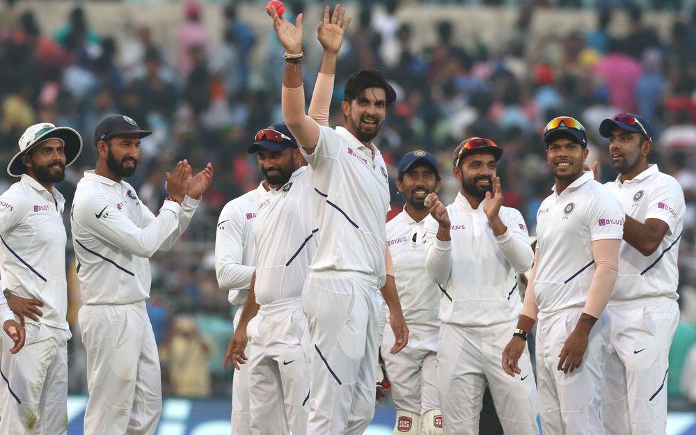 INDvBAN, दूसरा टेस्ट: 106 पर सिमटी बांग्लादेश की पारी, भारत को भी शुरुआती झटका