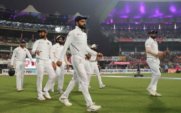 INDvBAN, दूसरा टेस्ट: भारत ने 347 के स्कोर पर घोषित की पारी,  बांग्लादेश को दूसरी पारी में लगे शुरूआती झटके 19