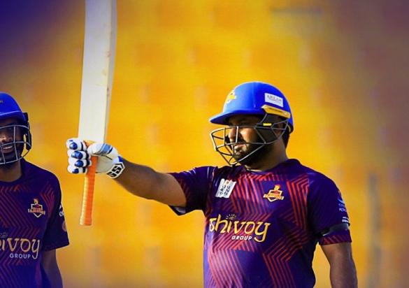 टी-10 लीग: मोहम्मद शहजाद की विस्फोटक बल्लेबाज से जीता डेक्कन ग्लैडिएटर्स 17