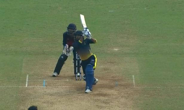 आईपीएल नीलामी से पहले सैयद मुश्ताक अली ट्रॉफी में युवा खिलाड़ी ने 14 गेंद में अर्द्धशतक लगा मचाई सनसनी