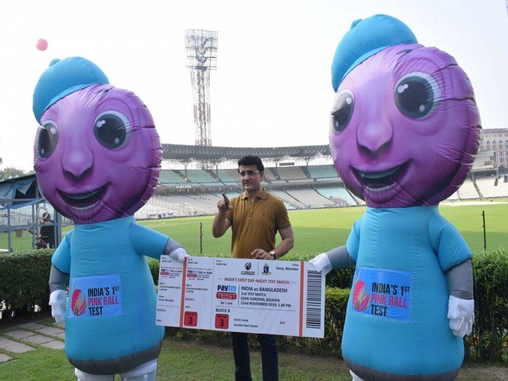 भारतीय टीम के पहले पिंक बॉल टेस्ट के लिए तैयार हो गया है कोलकाता, यहाँ देखें वीडियो 2