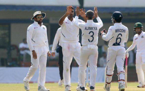 INDvBAN, पहला टेस्ट: अंतिम 2 गेंदों पर मोहम्मद शमी ने 2 बल्लेबाजों को भेजा पवेलियन, 140 पर 7 बांग्लादेश 2