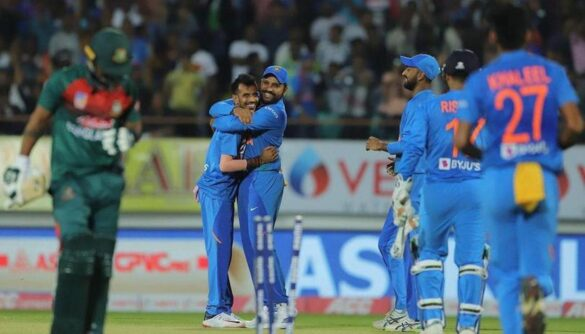 युजवेंद्र चहल पर रोहित शर्मा ने कहा, वह टीम का अहम हिस्सा 8