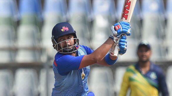 सैयद मुश्ताक अली ट्रॉफी: मुंबई और महाराष्ट्र को मिली जीत, पृथ्वी शॉ की विस्फोटक बल्लेबाजी 11