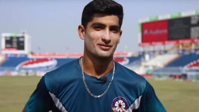 पाकिस्तान की अंडर-19 टीम के लिए ट्रेनिंग कैंप से जुड़ेंगे नसीम शाह