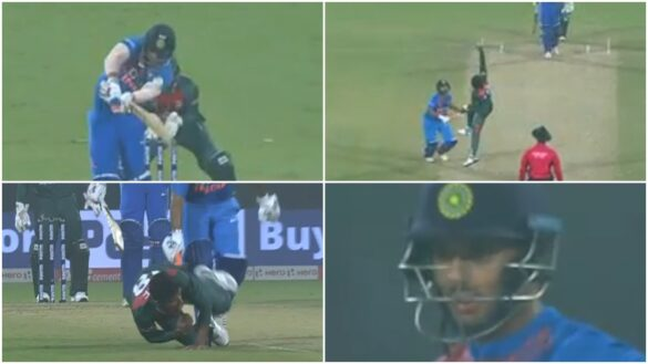 अफिफ हुसैन ने पकड़ा शिवम दुबे का अविश्वसनीय कैच, देखें वीडियो 17