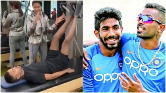सर्जरी के बाद पहली बार हार्दिक पांड्या जिम में लौटे, जसप्रीत बुमराह ने उड़ाया मजाक 7