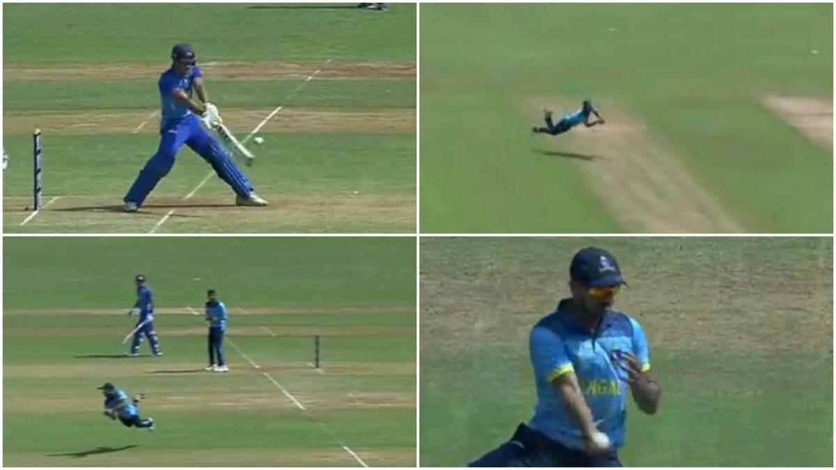 मनोज तिवारी ने सैयद अली मुश्ताक में मुंबई के खिलाफ पकड़ा शानदार कैच, देखें वीडियो