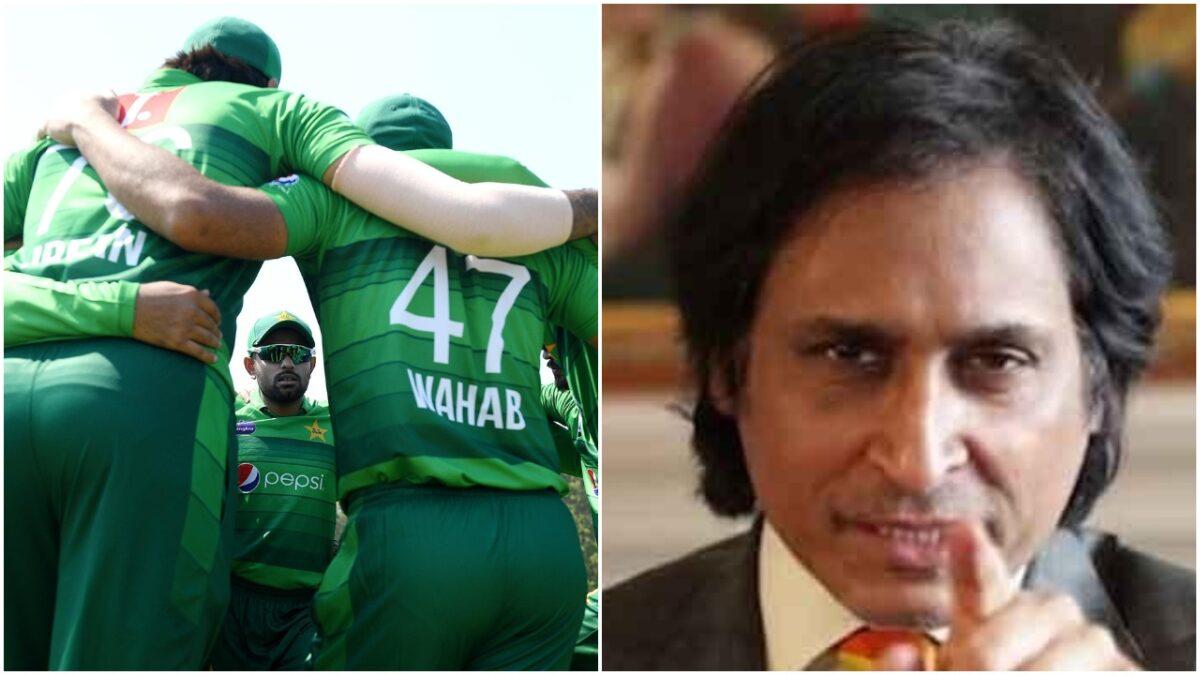 पाकिस्तान टीम पर भड़के रमीज राजा, इन 8 फील्डरो को बताया निकम्मा