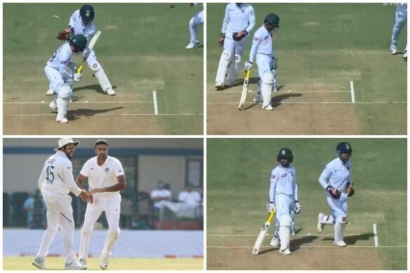 वीडियो : अश्विन की इस लाजवाब आर्म गेंद पर आउट हुए बांग्लादेशी कप्तान मोमिनुल हक, टर्न देख नहीं होगा यकीन 6