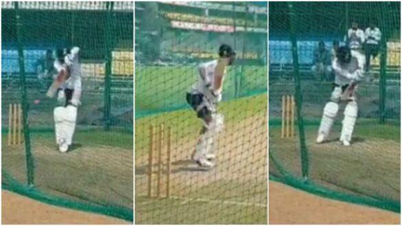 वीडियो: भूटान से वापस आने के बाद नेट्स में विराट कोहली ने सभी गेंदबाजों को थकाया, लगाए अद्भुत शॉट्स 8