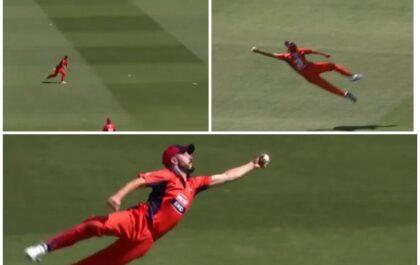 वीडियो : ऑस्ट्रेलिया के इस खिलाड़ी ने पकड़ा लाजवाब कैच, कहा जा सकता है साल का सबसे बेहतरीन कैच 4