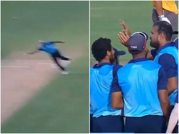"""युसूफ पठान के शानदार कैच पर राशिद खान ने ली चुटकी """"ये पठान के हाथ हैं ठाकुर"""""""