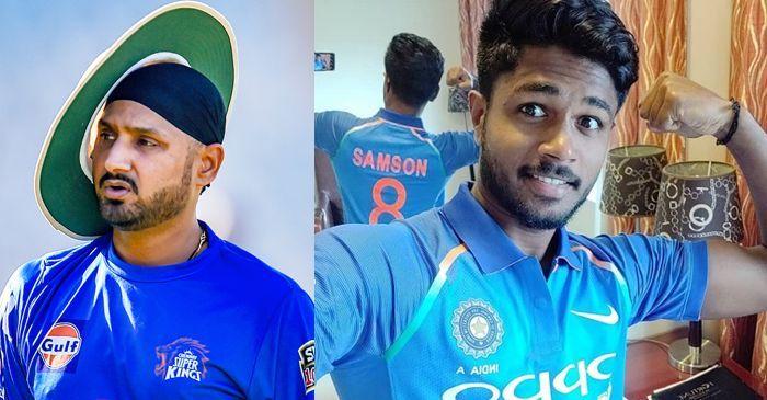 संजू सैमसन के भारतीय टीम से बाहर होने के बाद हरभजन सिंह ने करी चयन समिति को बदलने की मांग