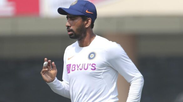 रिद्धिमान साहा ने अपनी चोट पर दिया बड़ा बयान, बताया न्यूजीलैंड दौरे पर जाने की उम्मीद या नहीं 2