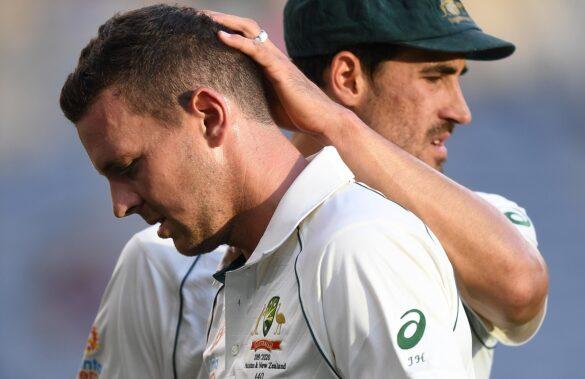 AUSvsNZ: ऑस्ट्रेलिया को बड़ा झटका, जोश हेजलवुड पहले टेस्ट में नहीं कर पाएंगे गेंदबाजी 9