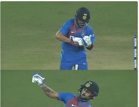 IND vs WI : भारत की जीत के बाद सोशल मीडिया पर छाया विराट कोहली का सिग्नेचर स्टाइल 13