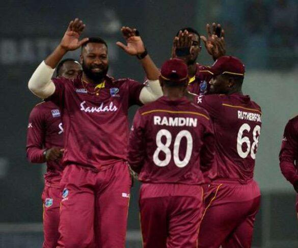 पहले टी-20 में वेस्टइंडीज ने श्रीलंका को 25 रन से हराया, जीत में चमके आंद्रे रसेल और कीरोन पोलार्ड 16