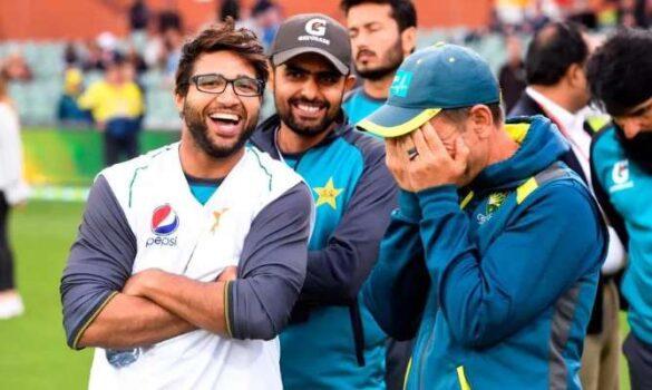 पाकिस्तान की हार के बाद वायरल हुई इमाम-लेंगर के हंसने की तस्वीर, अब जेसन गिलेस्पी ने दी अपनी प्रतिक्रिया 1