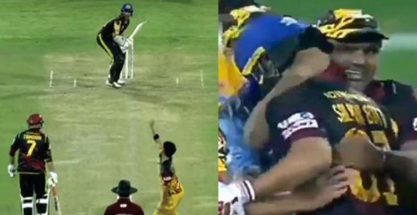 वीडियो : 1 गेंद पर चाहिए थे 5 रन, फिक्सिंग में फंस चुके सलमान बट ने लगा दिया छक्का