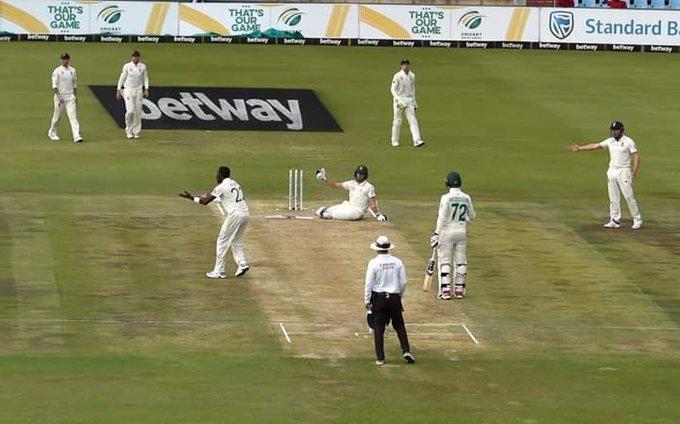 जोफ्रा आर्चर ने अफ्रीका के खिलाफ डाली जानलेवा गेंद, जमीन पर गिरकर बल्लेबाज ने बचाई जान