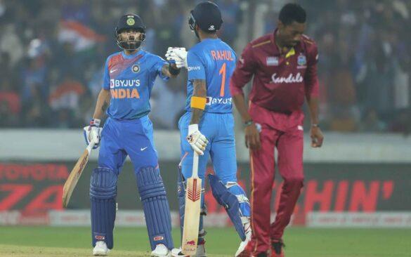 INDvsWI : विराट कोहली की शानदार पारी के दम पर भारत ने वेस्टइंडीज को 6 विकेट से हराया 33