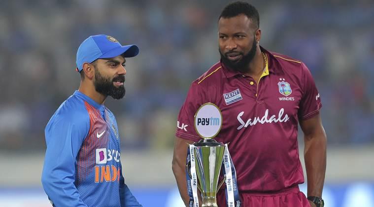INDvsWI : टॉस रिपोर्ट : वेस्टइंडीज ने टॉस जीत चुनी गेंदबाजी, भारत की प्लेइंग XI में हुए बड़े बदलाव 1