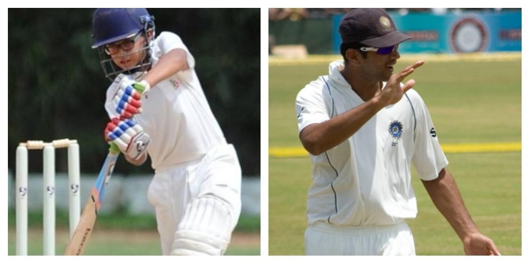 आईपीएल नीलामी के बीच राहुल द्रविड़ के बेटे ने मैदान पर मचाया तहलका, लगाया दोहरा शतक 1